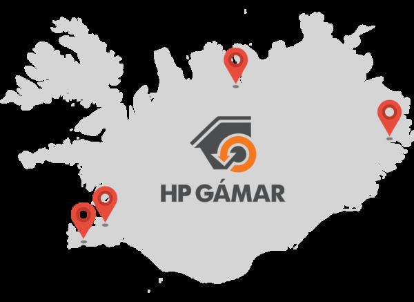 HP Gámar - Starfsstöðvar